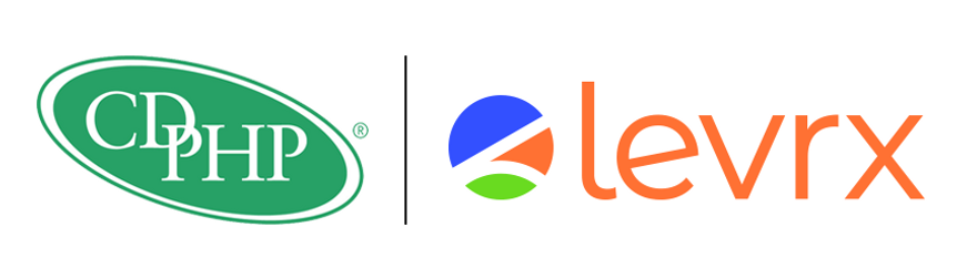 CDPHP and Levrx logos